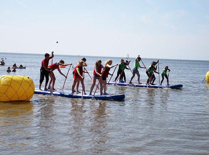 stand-up-paddling-funsport ©Surfschule Norddeich