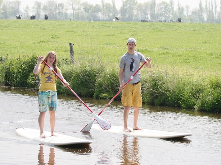 stand-up-paddling-nahaufnahme ©Surfschule Norddeich