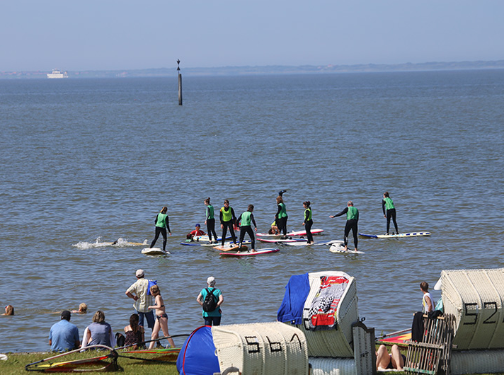 stand-up-paddling-nordsee ©Surfschule Norddeich
